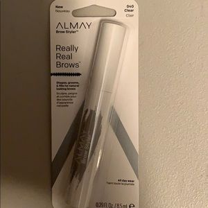 Clear brow styler